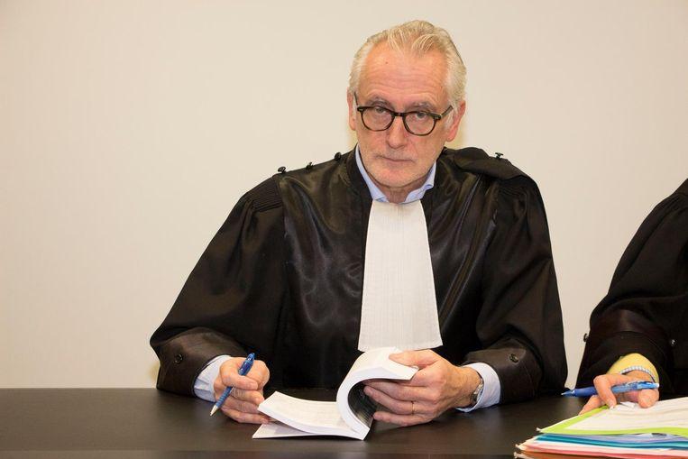 Politierechter Peter D'Hondt.