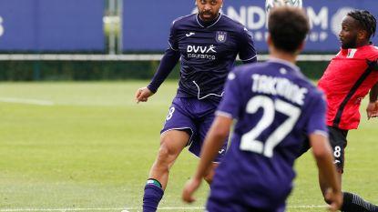 Anderlecht wint tegen RWDM na knappe goals van Trebel en Gerkens, Vanden Borre speelt (sobere) eerste helft