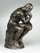 De Denker, bronzen beeld van Auguste Rodin.
