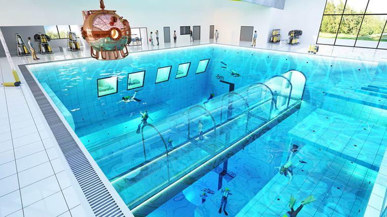 c74abd11440 Diepste zwembad ter wereld opent binnenkort in Polen: duiken tot 45 meter  diep