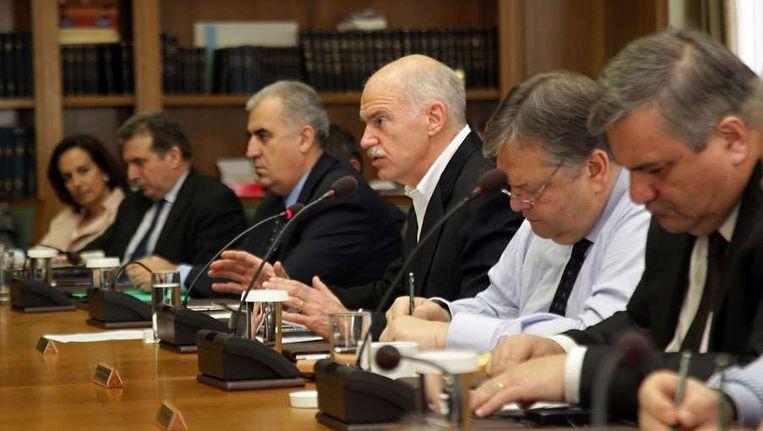 Griekse Regering Vandaag Bekend Trouw