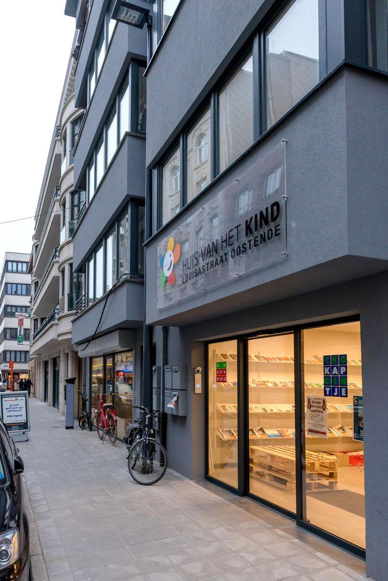 D'n Opvang is gevestigd in de Louisastraat.