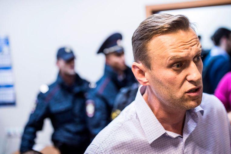 Oppositieleider Alexej Navalni.