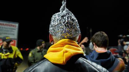 """""""Bestorming"""" militaire basis Area 51 blijft uit"""