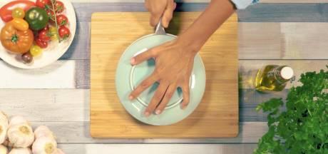 Tomaatjes snijden? Dat kan veel sneller