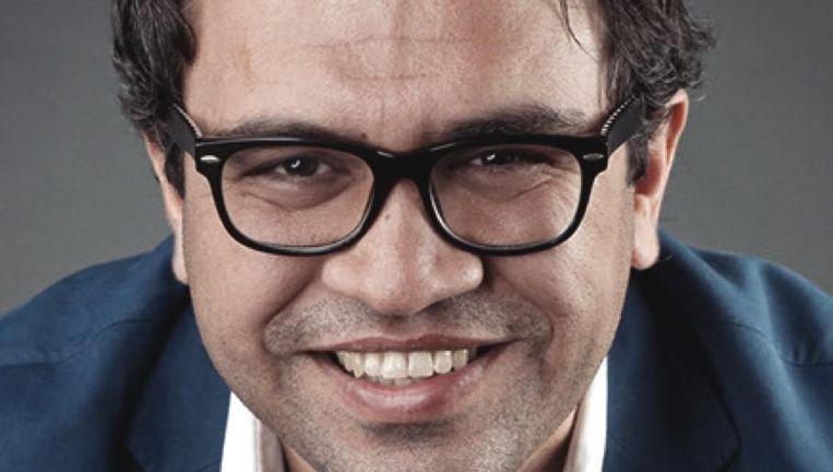 NRC-columnist en docent aan de Erasmus Universiteit Zihni Özdil staat op plek zeven op de kandidatenlijst van GroenLinks. Beeld null