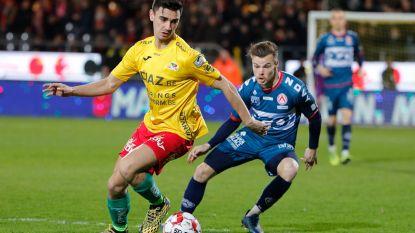 Kristof D'Haene kan vrijdag met KV Kortrijk tot op drie punten van Genk komen