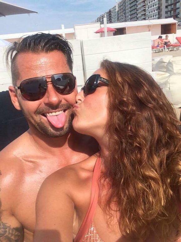 Bjorn Delaire en zijn vriendin Sophia Vanryckeghem (39) met wie hij sinds negen maanden een koppel vormde.