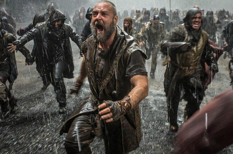 Russel Crowe in Noah (Darren Aronofsky, 2014). Beeld null