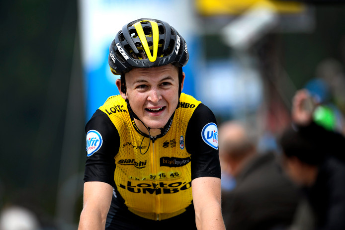Antwan Tolhoek verraste met zijn elfde plaats in de Dauphiné. Nu mag hij de Tour rijden.