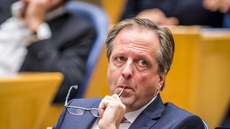 D66-leider Pechtold in de Kamerbankjes. Beeld anp