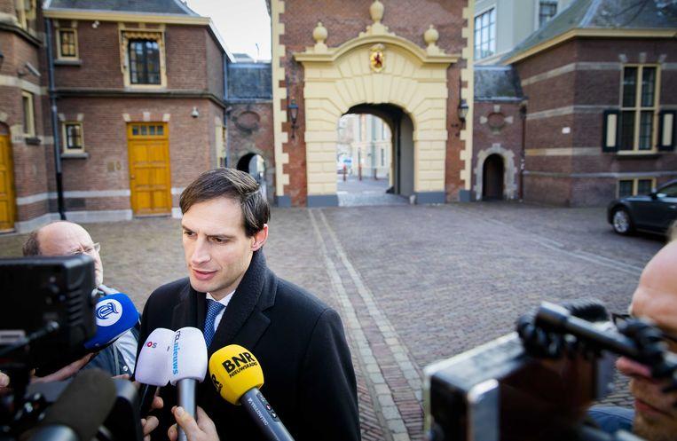 Minister Wopke Hoekstra (CDA) Beeld ANP