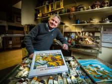 Hengelose kunstenaar Jan Wessels (75) gaat nog altijd het avontuur met het witte doek aan