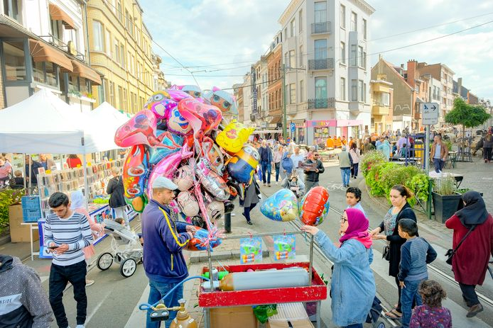 jaarmarkt in Anderlecht