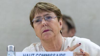 """VN-mensenrechtencommissaris Bachelet: """"Vrouwen uit Congres die zich verzetten tegen Trump zijn 'fantastisch'"""""""