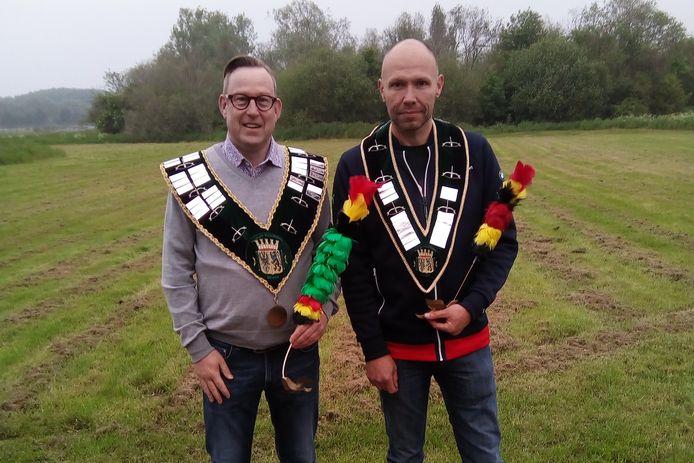 De eer van Koning van de stad Ninove 2019 op de staande wip viel te beurt aan Bart Van Heghe, onderkoning werd Michel Van Mulder.