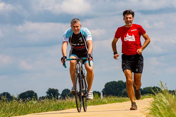Eddie Wassink (links) en Mark van Hoorn