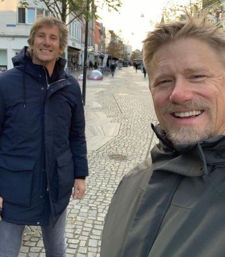 United-iconen Schmeichel en Van der Sar lopen elkaar tegen het lijf in Herning