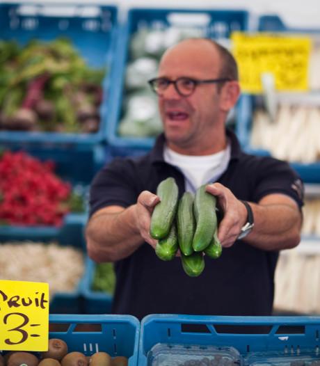 96 procent van marktlieden uit Bunschoten verkoopt noten, fruit of vis