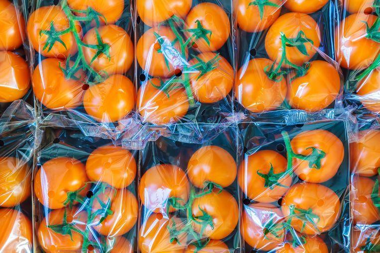 Getty Images/iStockphoto Supermarkten willen plastic voor eenmalig gebruik gaan weren.