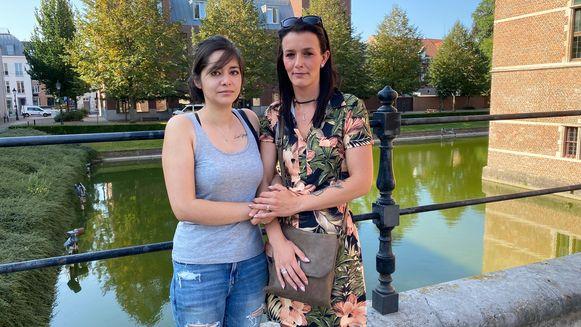 Slachtoffers Kimberly (25) en Kim (31).