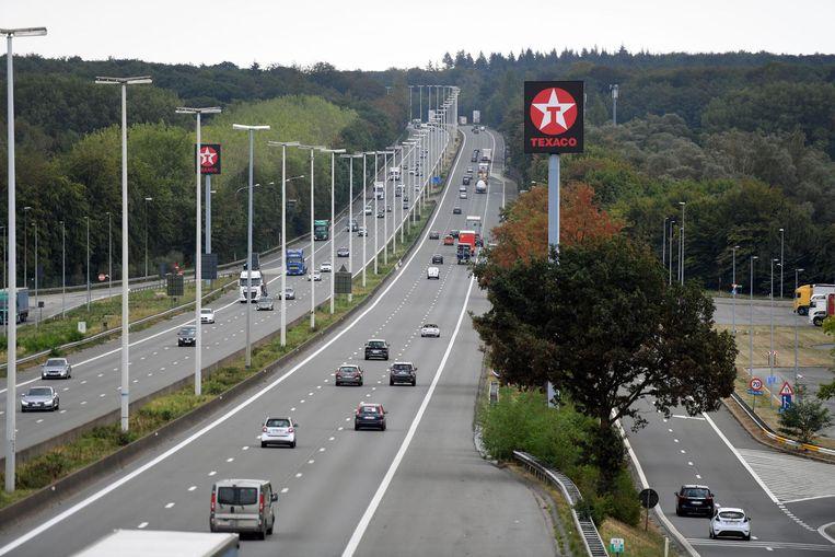 Het ongeval gebeurde op de E40 richting Luik.