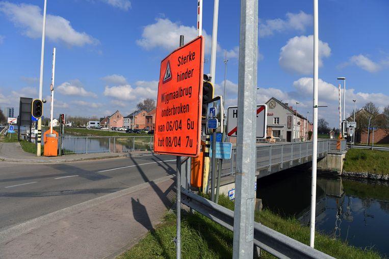 Wijgmaalbrug gaat enkele dagen dicht voor werkzaamheden.