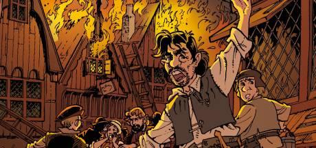 Grote wens komt uit: stripboek over Goes eindelijk in kleur