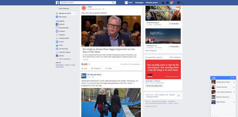null Beeld Screenshot Naima's Facebook