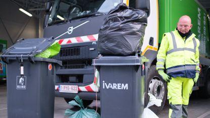 IVAREM-inwoners produceerden 20kg meer afval; restafval wel lichtjes gedaald