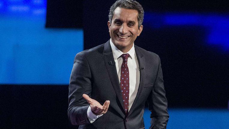 Bassem Youssef stopt voorgoed met zijn show. Beeld afp