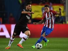 Weer een gebroken neus bij Atlético Madrid