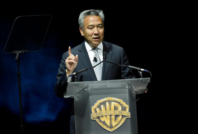 Kevin Tsujihara op archiefbeeld