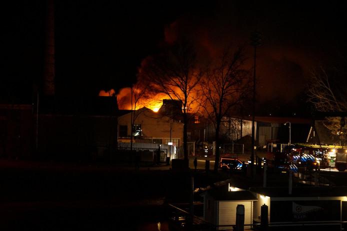 Grote brand in Heusden