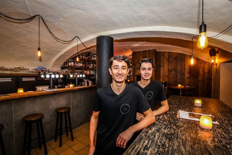 Brugge Theo en Adam De Cock van Barlow