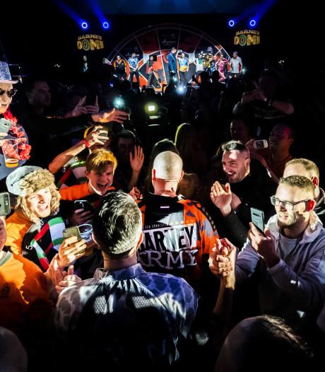 Kolkende avond in Barney Dome: 'De hele zaal zit vol, joh'