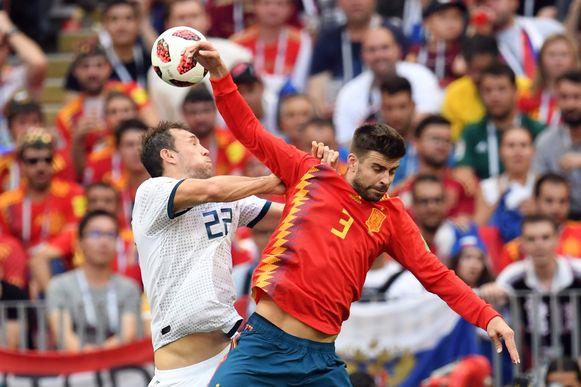 De handsbal van Piqué