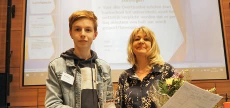 Goed geDaan! Zwolse CCC-scholier (16) verslaat heel Overijssel als debater