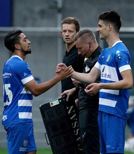 Bij PEC Zwolle is het nu vooral op het middenveld dringen geblazen