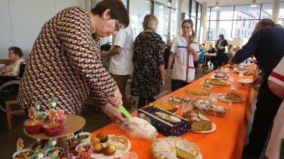 WZC Sint-Antonius serveert dessertenbuffet tijdens Warmste Week