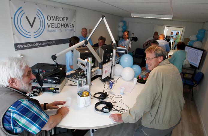 Open dag bij Omroep Veldhoven (archieffoto)