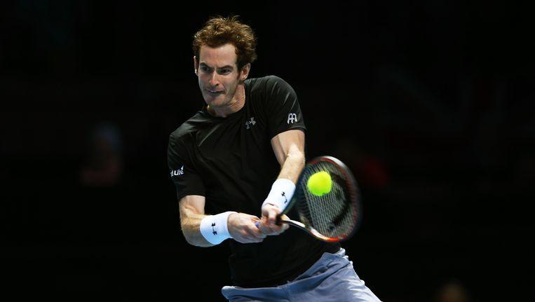 Andy Murray en zijn Britse Davis Cupteam vertrekken pas later naar Gent vanwege terreurdreiging in België. Beeld getty