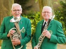 Muzikale broers al 65 jaar bij De Hoop uit Ossendrecht, andere leden 50 jaar