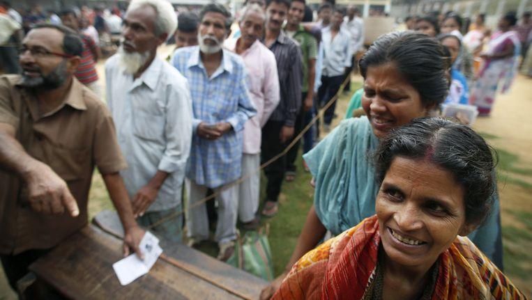 Verkiezingen Van Start In India Buitenland Nieuws Hln
