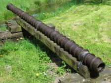 Smeedijzeren kanonsloop Culemborg wordt overgedragen