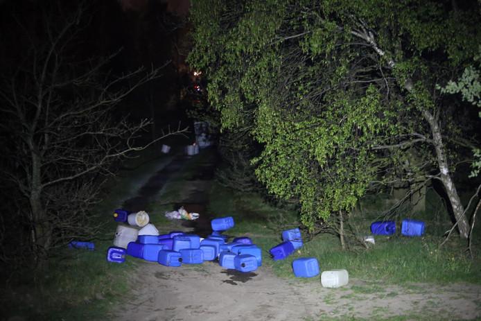 Grote drugsdumping tussen Schijndel en Veghel