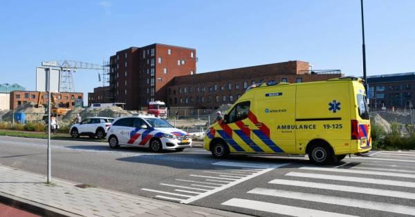 Fietser aangereden bij rotonde Vlissingen.