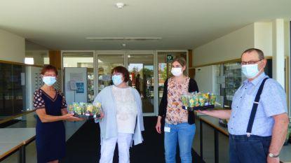 Beweging.net schenkt 400 vetplantjes aan Aalterse zorgverleners