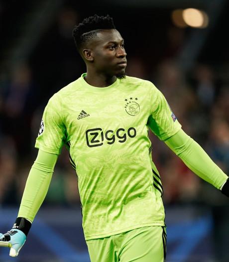 Ook Onana schittert bij ruim winnend Ajax: 'Ach, ik doe mijn werk'