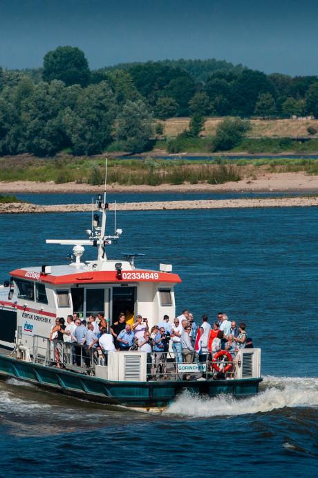 Ook deze zomer weer snelle boot tussen Zaltbommel en Loevestein